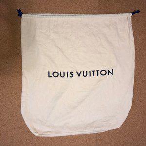 LOUIS VUITTON XL Drawstring Dust Bag 17x24